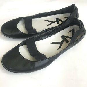 Anne Klein Sport Shoes Ballet Flats Black 6 1/2 M